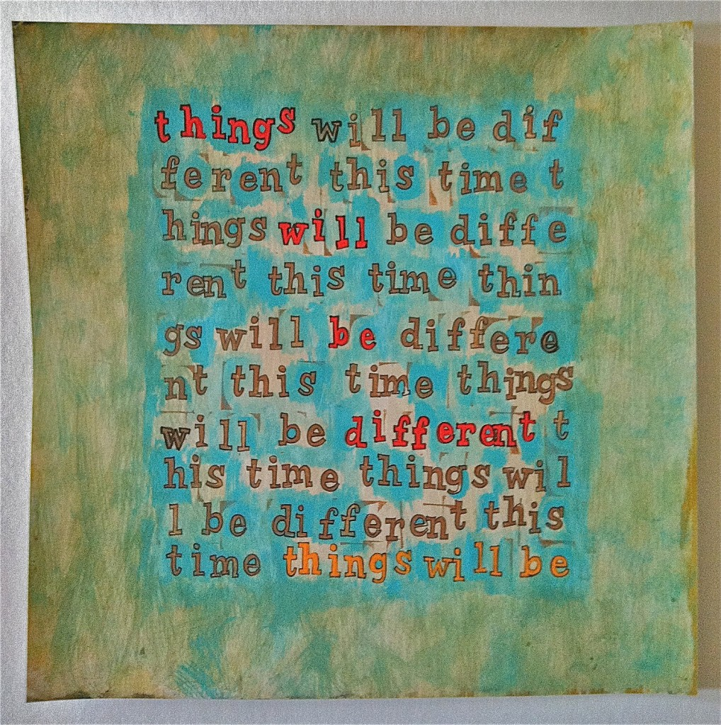 "Etsy Artist Nikki Galapon - ""things will be different"""
